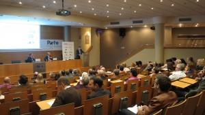 Participantes de la presentación del Encuentro CEX